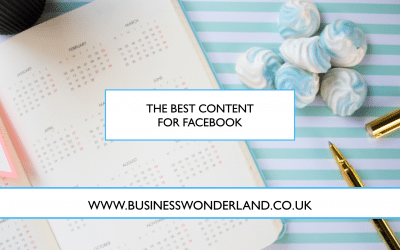 The best content to share on Facebook