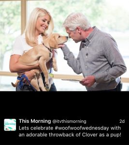 TV show This Morning use my hashtag