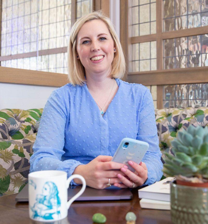 Katie social media coach for women in business